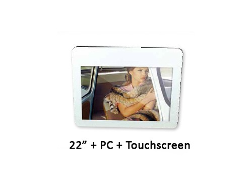 Orion Transparante LCD met PC en touchscreen 22 inch