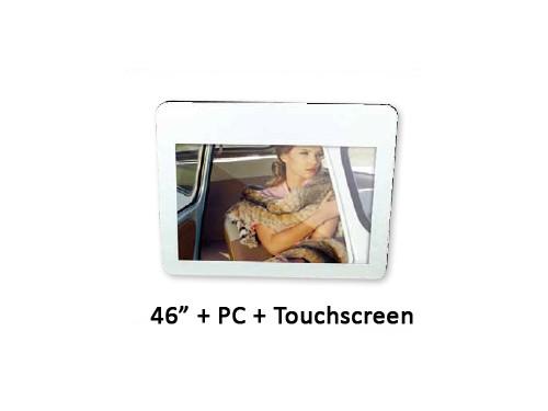 Orion Transparante LCD met PC en touchscreen 46 inch